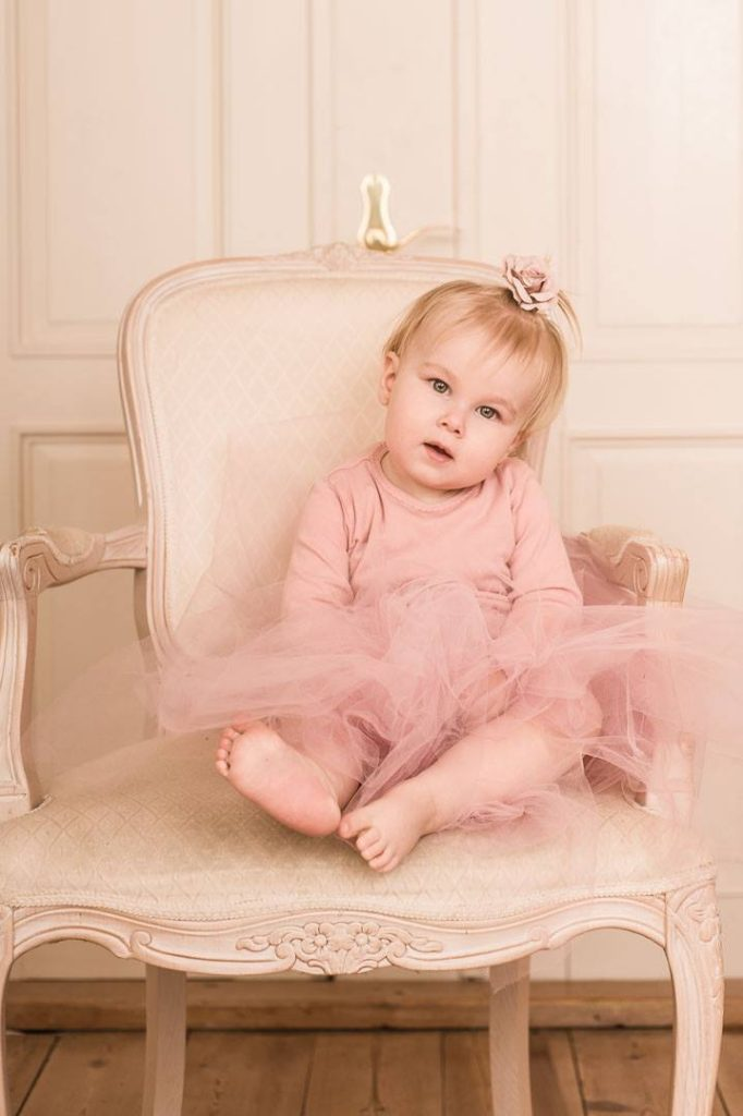 Mor datter fotografering, vær prinsesse for en dag. fotografering i eget hjem