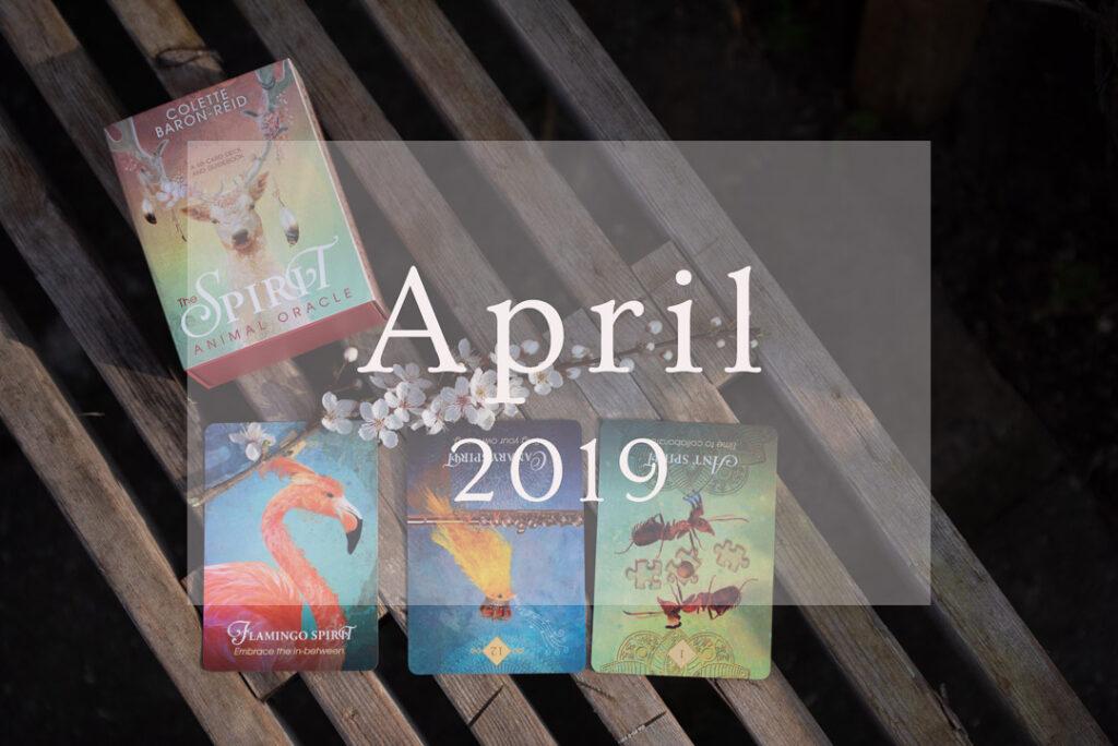 April 2019, numerologi