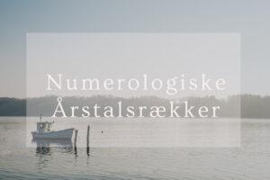 årstalsrækker, numerologiske årstalsrækker, skæbe, livsskæbne, numerologi, numerolog, navneskifte, numerologisk navneskifte