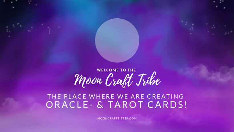 oracle- & tarot cards // moon craft tribe