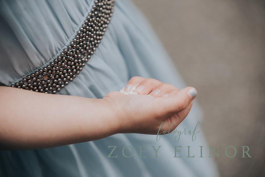 Bryllupsbilleder taget af bryllupsfotograf Zoey Elinor. Fotografen tager billeder i hele Danmark