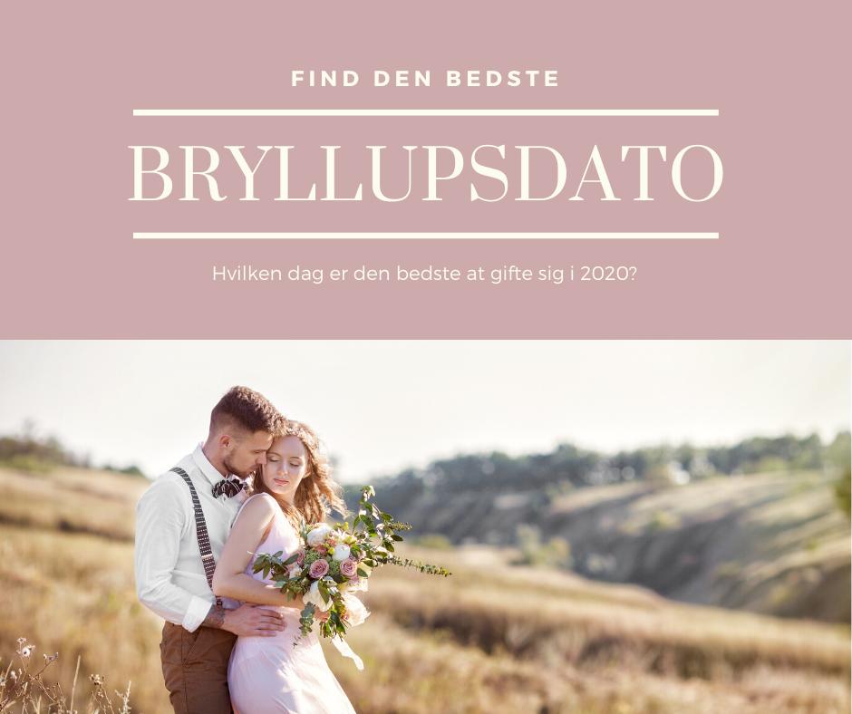 Hver dato har en energi, vælge den rigtige bryllupsdato til dit bryllup