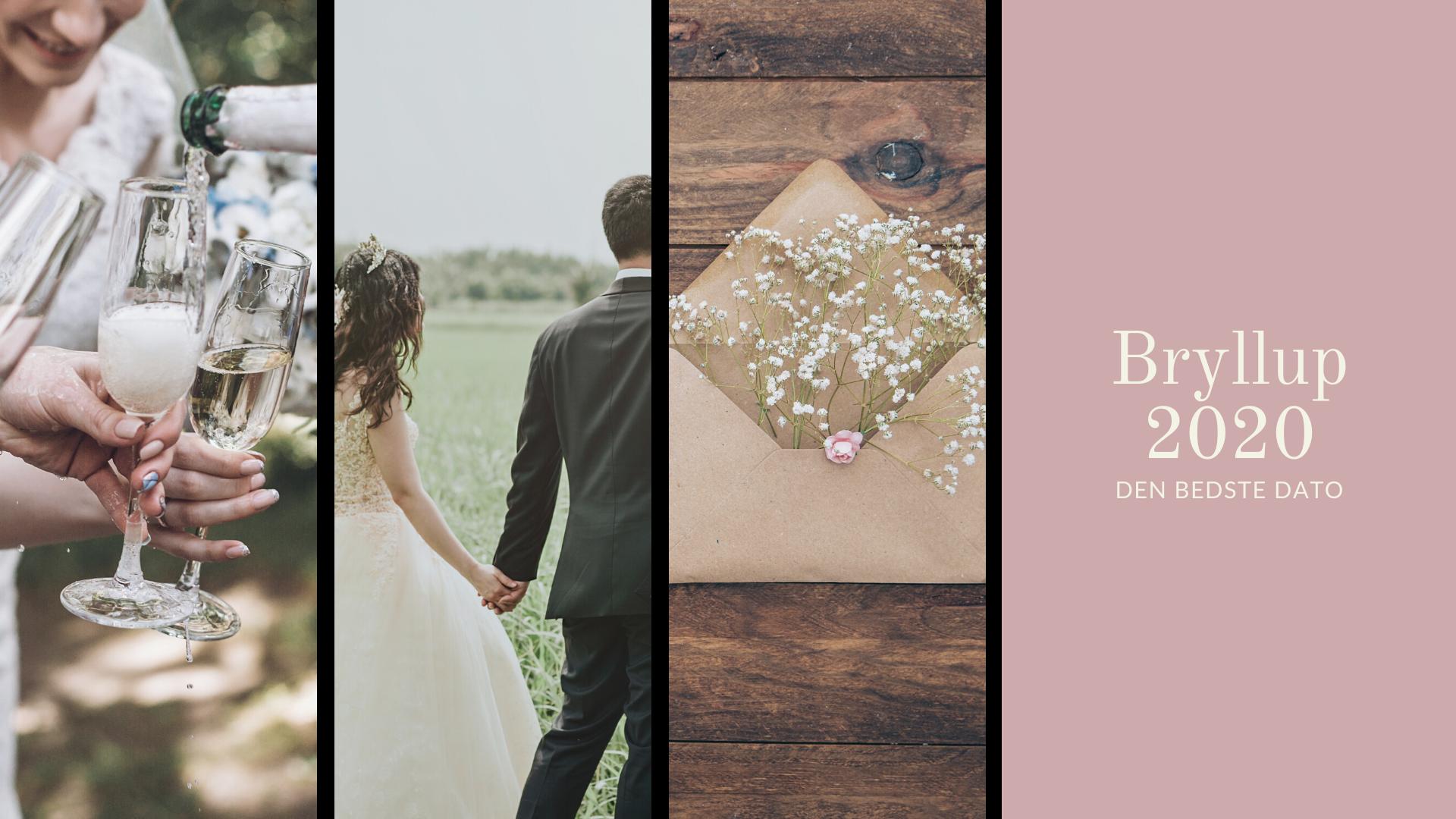 Hvilken bryllupsdato er den bedste?